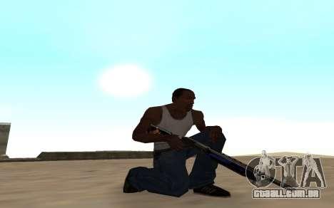 Espingarda com um filhote de tigre para GTA San Andreas