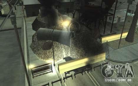 Estrada de reparação de v2.0 para GTA San Andreas terceira tela