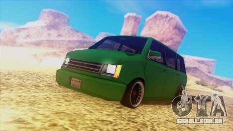 Fantastic ENB para GTA San Andreas segunda tela