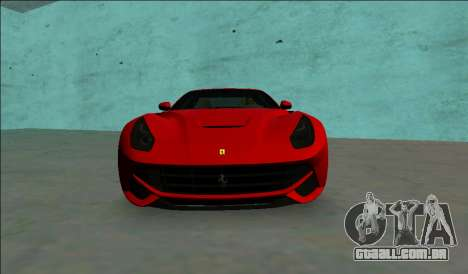 A Ferrari F12 Berlinetta para GTA Vice City vista direita
