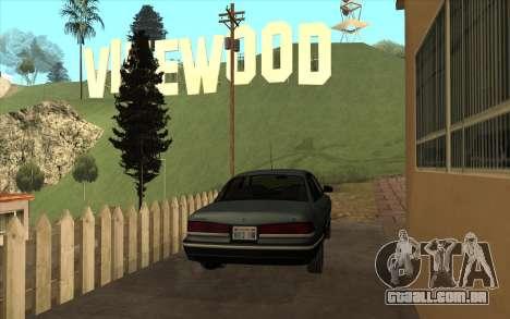 Ford Crown Victoria 1995 SA Estilo para GTA San Andreas vista direita