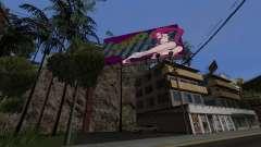 Candy Suxx billboard substituição para GTA San Andreas
