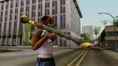 Brasileiro Rocket Launcher v2 para GTA San Andreas