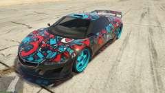 Dinka Jester (Automóvel) Adesivo de Bombardeio для GTA 5 para GTA 5