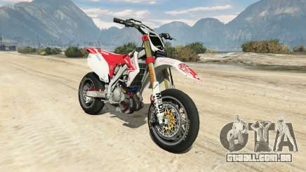 Honda CRF450 Turbo Motard para GTA 5