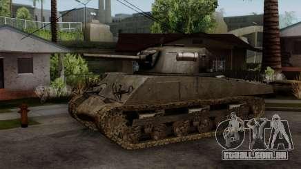 M4 Sherman from CoD World at War para GTA San Andreas
