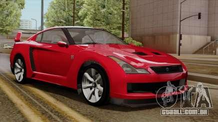 GTA 5 Elegy RH8 para GTA San Andreas