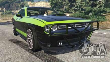 Dodge Challenger 2015 Shaker Furious 7 para GTA 5