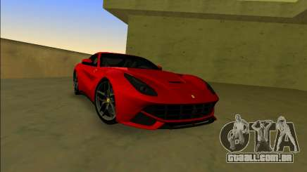 A Ferrari F12 Berlinetta para GTA Vice City