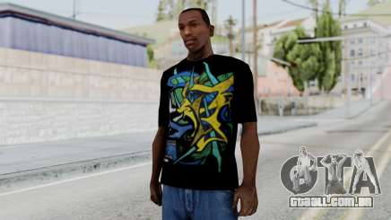 T-shirt from Jeff Hardy v1 para GTA San Andreas