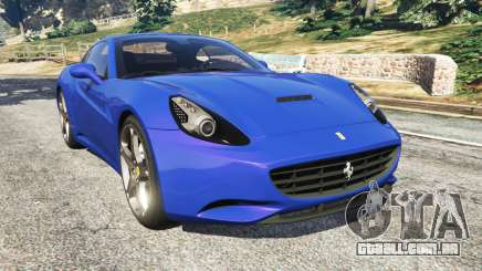 Ferrari California (F149) 2012 [Beta] para GTA 5