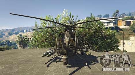 GTA 5 MH-6/AH-6 Little Bird Marine terceiro screenshot