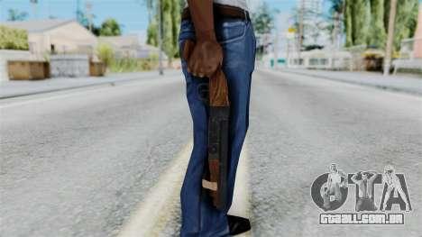 Sawnoff Shotgun from RE6 para GTA San Andreas terceira tela