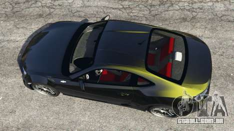 GTA 5 Toyota GT-86 v1.2 voltar vista