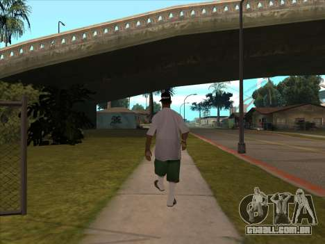 New Beta Skin para GTA San Andreas segunda tela
