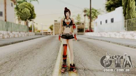 Dynasty Warriors 8 - Bao Sannian Black Costume para GTA San Andreas segunda tela