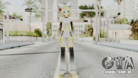 Project Diva F 2nd - Kagamine Rin Append para GTA San Andreas segunda tela