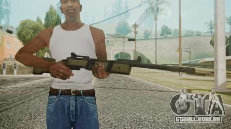M40A5 Battlefield 3 para GTA San Andreas terceira tela