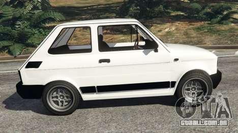 GTA 5 Fiat 126p v0.5 vista lateral esquerda