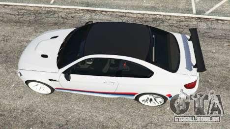 GTA 5 BMW M3 GTS voltar vista