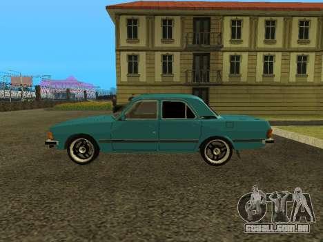 GAZ 3102 Volga para GTA San Andreas esquerda vista