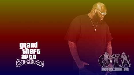 Hip Hop Loadscreens para GTA San Andreas por diante tela