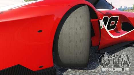GTA 5 Ferrari FXX-K 2015 vista lateral direita