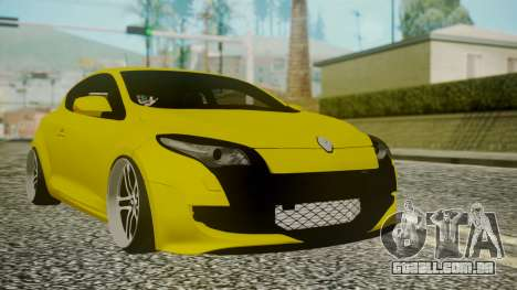 Renault Megane RS para GTA San Andreas