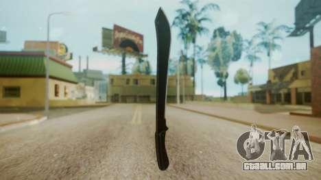 GTA 5 Machete (From Lowider DLC) para GTA San Andreas segunda tela