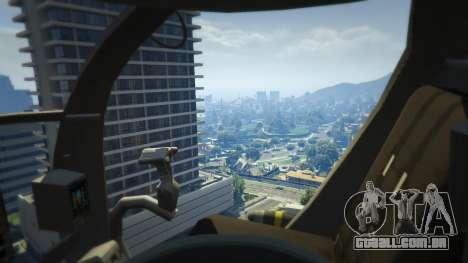 GTA 5 MH-6/AH-6 Little Bird Marine quinta imagem de tela