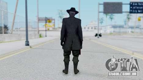 SkullFace Mask and Hat para GTA San Andreas terceira tela