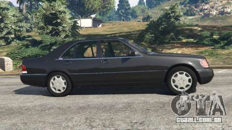 GTA 5 Mercedes-Benz S600 (W140) vista lateral esquerda