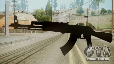 Atmosphere AK-47 v4.3 para GTA San Andreas