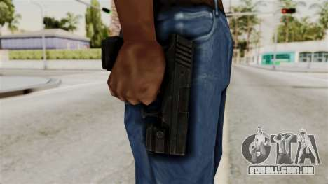 Colt 45 from RE6 para GTA San Andreas terceira tela