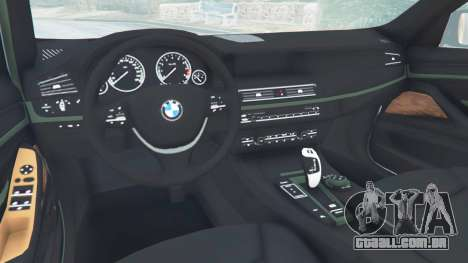 GTA 5 BMW 525d (F11) Touring 2015 (US) vista lateral direita
