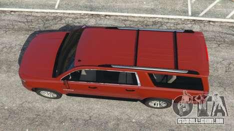 GTA 5 Chevrolet Suburban 2015 voltar vista