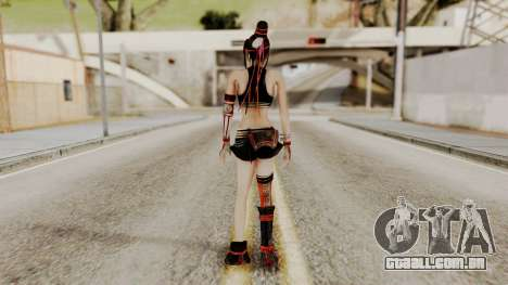 Dynasty Warriors 8 - Bao Sannian Black Costume para GTA San Andreas terceira tela