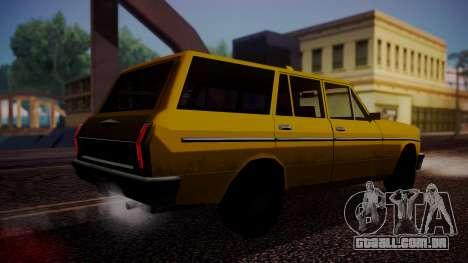 Taxi-Perennial para GTA San Andreas esquerda vista