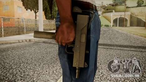 Micro SMG by catfromnesbox para GTA San Andreas terceira tela