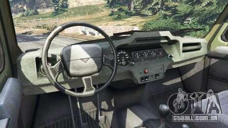GTA 5 UAZ-3159 barras [Beta] traseira direita vista lateral