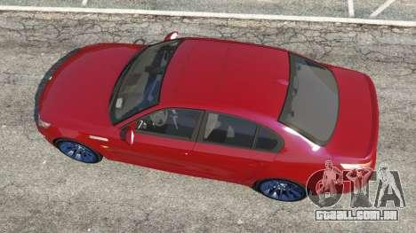 GTA 5 BMW M5 (E60) 2006 voltar vista