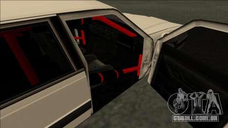 Willard Drift para GTA San Andreas traseira esquerda vista