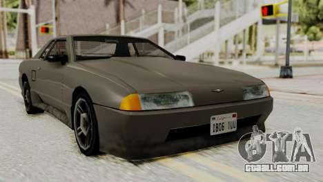 Elegy The Gold Car 1 para GTA San Andreas