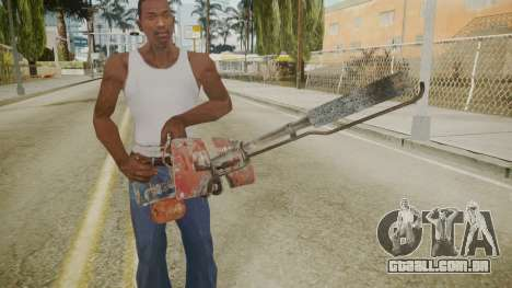 Atmosphere Flame Thrower v4.3 para GTA San Andreas terceira tela