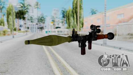 Rocket Launcher from RE6 para GTA San Andreas segunda tela