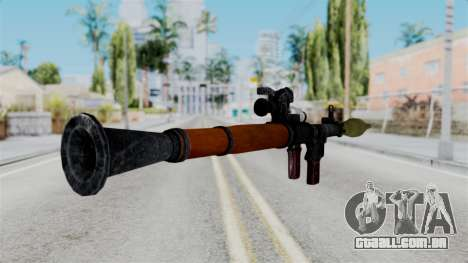 Rocket Launcher from RE6 para GTA San Andreas terceira tela
