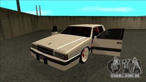 Willard Drift para GTA San Andreas vista traseira