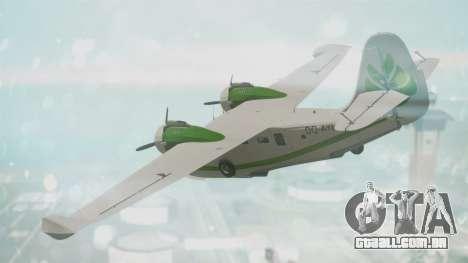 Grumman G-21 Goose DQAYL para GTA San Andreas esquerda vista