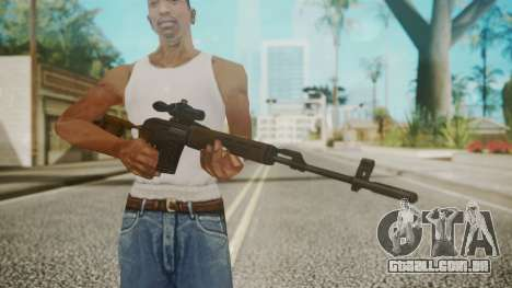 Sniper Rifle by EmiKiller para GTA San Andreas terceira tela