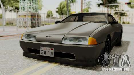 Elegy The Gold Car 1 para GTA San Andreas traseira esquerda vista